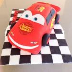 3D Disney Cars cake