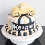 3D VW Beatle cake