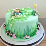 Forrest faeries cake