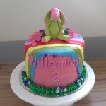 Lettie rainbow birthday cake