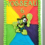 Lego Mixel cake