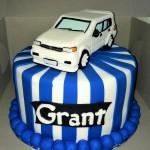 Tazz car cake