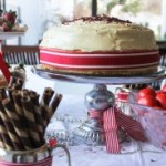 Christmas in July - Red Velvet Cheese cake