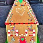 Giant Gingerbread House 80cm high