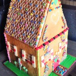 Giant Gingerbread House - Side view