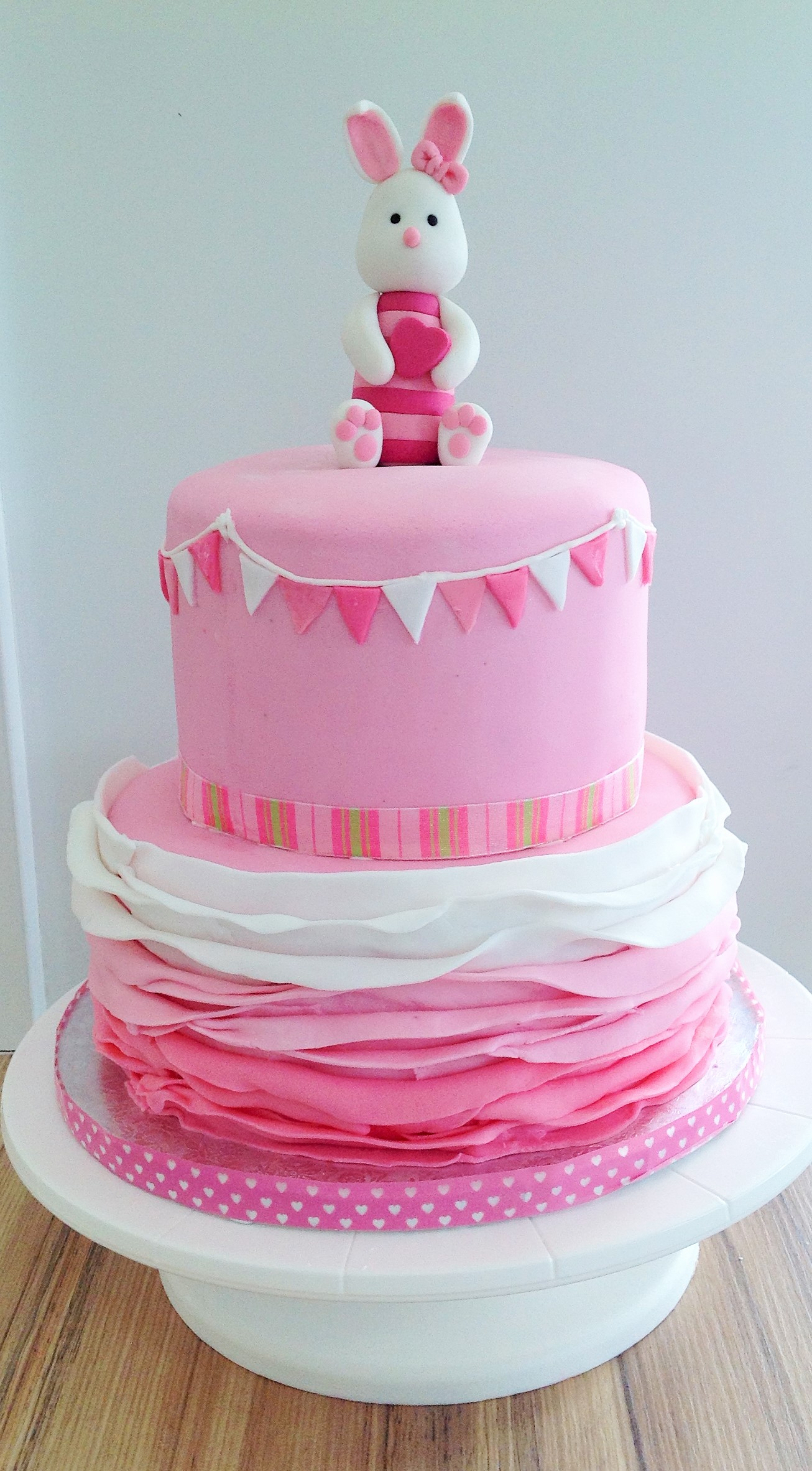 Pink Tiered Cake